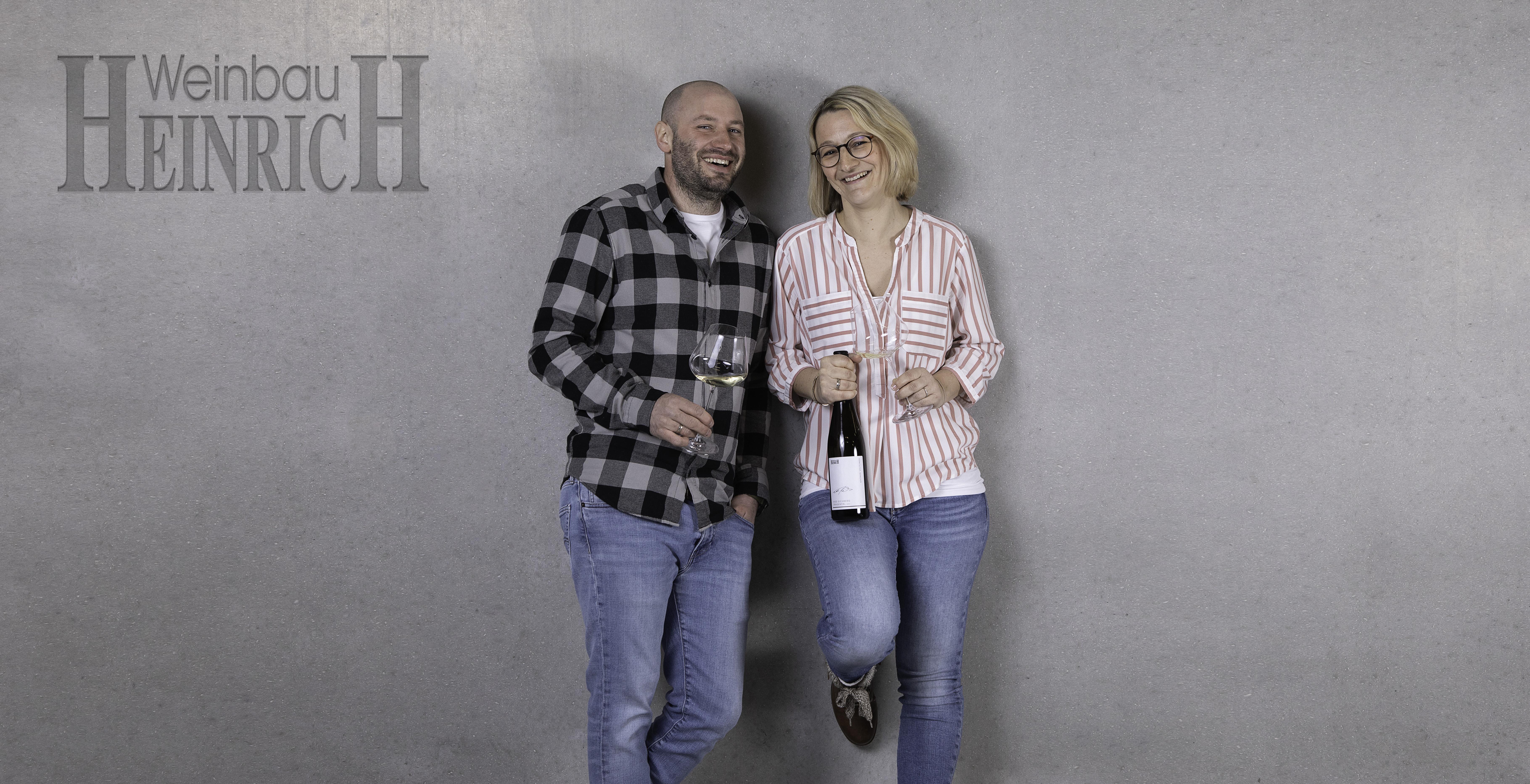 Pressefoto Thomas und Carina Heinrich